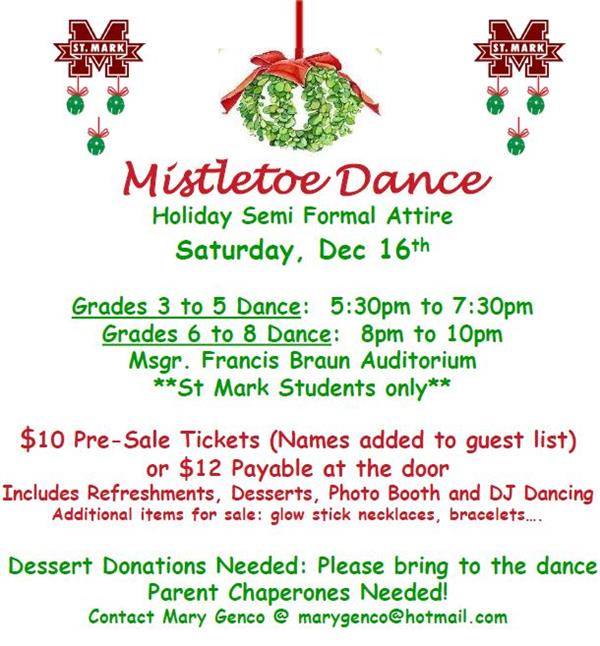 Get your Dance Attire Ready for Mistletoe!